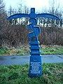 NCN Millennium Milepost MP1146 Bilton North Yorkshire.jpg