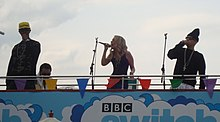 N-Dubz performing at the BBC in 2009