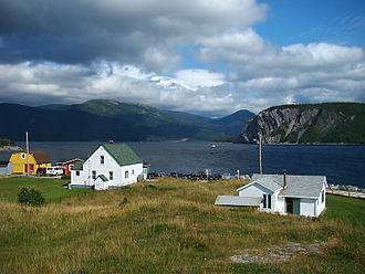 Bonne Bay - Norris Point, at the junction of the South Arm and the East Arm of Bonne Bay