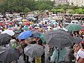 NOLA BP Oil Flood Protest brollys.JPG