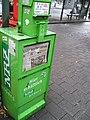 NRZ Zeitungsautomat Düsseldorf Benrath.JPG