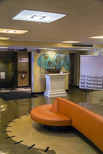 NS Savannah - Main lobby in 2012