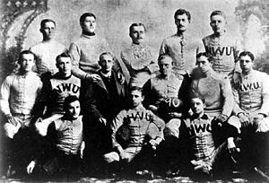 History of Northwestern University - The 1890 football team.