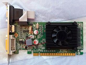 """GeForce 8 series - NVidia GeForce 8400 GS """"Rev 3.0"""""""