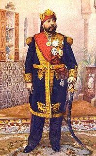 Muhammad V an-Nasir Bey of Tunis