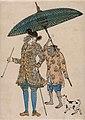 Nagasakie. Dutch man with his slave.jpg