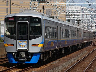 Nankai Electric Railway - Image: Nankai 12000