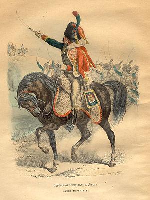 Chasseurs à Cheval de la Garde Impériale - Chasseur à Cheval of the Imperial Guard