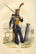 Napoleon Guard Marine by Bellange