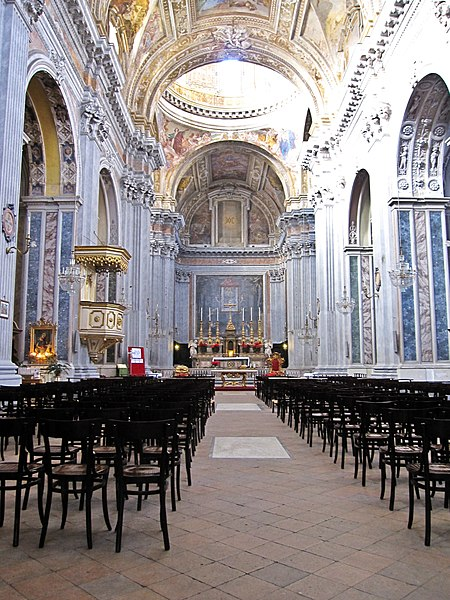 File:Napoli - Chiesa di Santa Maria degli Angeli a Pizzofalcone3.jpg