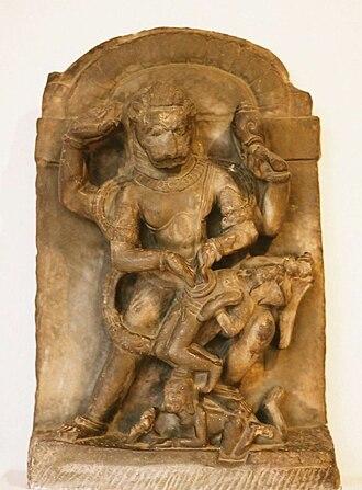 Narasimha - Narasiṃha statue
