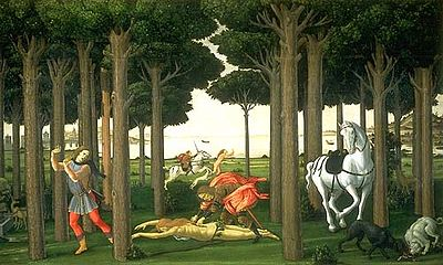 Nastasio degli Onesti II- Botticelli