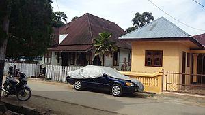 Natal, North Sumatra - A street in Natal