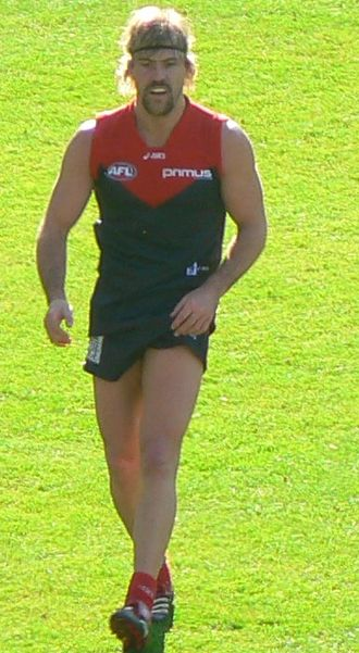 Nathan Carroll (footballer) - Carroll playing for Melbourne during 2007