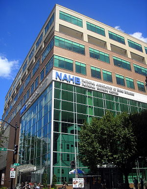 The National Housing Center, headquarters for the National Association of Home Builders, located at 1201 15th Street, N.W., in the Logan Circle Washington, D.C.