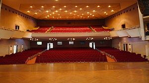 National Theatre of Yangon - Image: National Theatre of Yangon, from stage