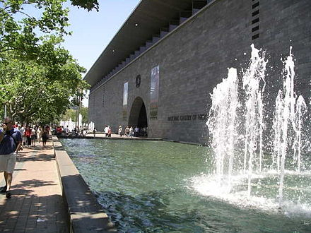 The National Gallery of Victoria is the Southern Hemisphere's most visited art museum. National gallery victoria international.jpg