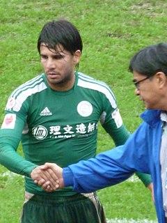 Aender Naves Mesquita Brazilian-born Hong Kong footballer