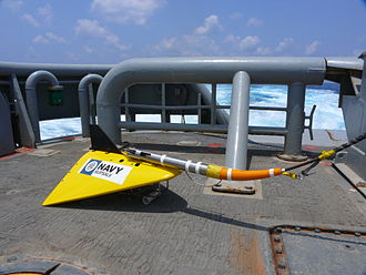 Towed pinger locator - United States Navy Towed Pinger Locator 25 system
