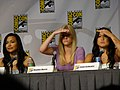 Naya Rivera, Heather Morris & Jenna Ushkowitz (4853055656).jpg