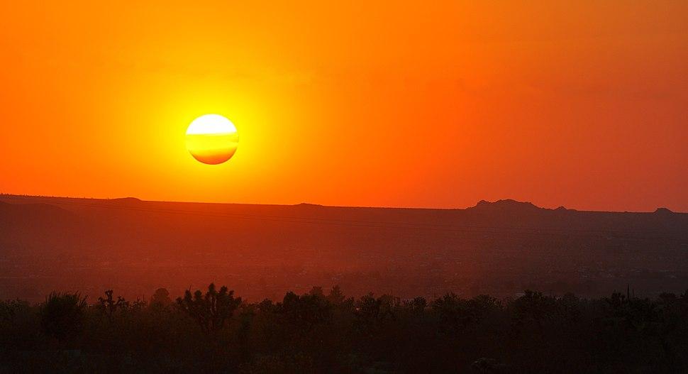 Neapolitan Sunset
