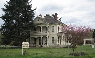 Auburn, Washington - Neely Mansion, spring of 2006