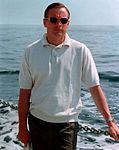 Neil poses on the deck of 'Retriever'.jpg