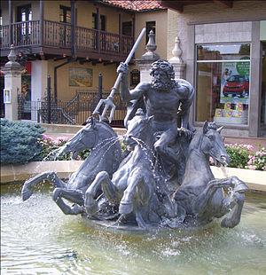 Walter Gilbert (sculptor) - Image: Neptune Fountain Kansas City MO