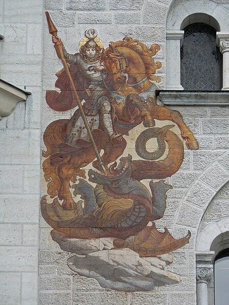 Archivo:Neuschwanstein. St George.jpg