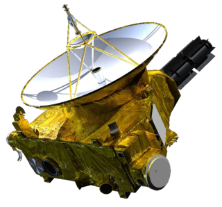 <i>New Horizons</i> First mission of the New Frontiers program; flyby reconnaissance of the dwarf planet Pluto and 486958 Arrokoth