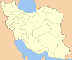 Railway electrification in Iran is located in Iran