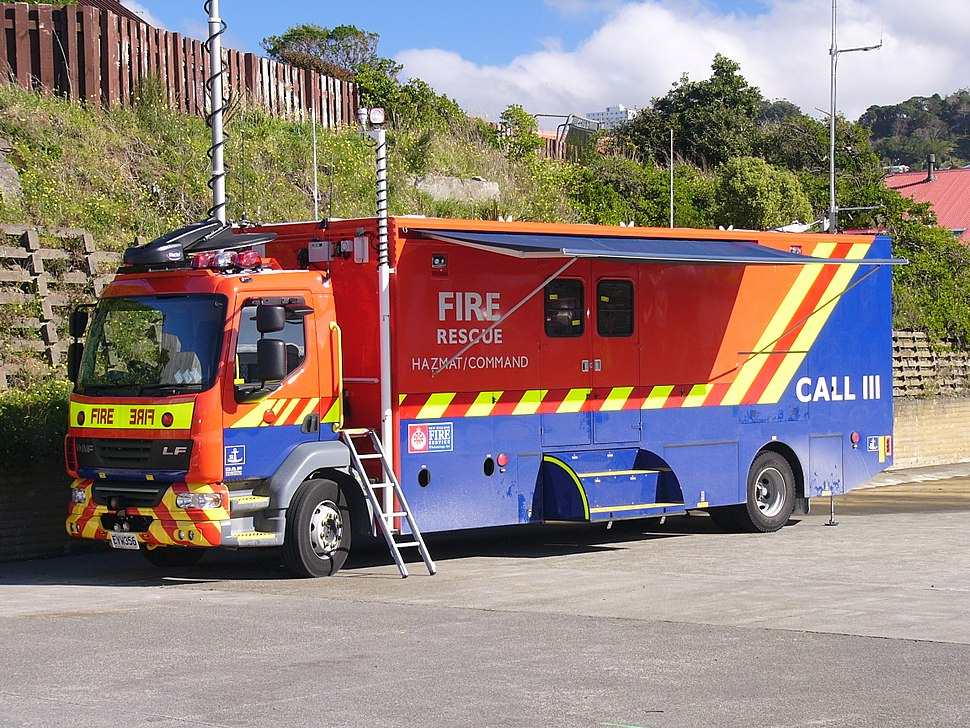 New Zealand Trucks - Hazmat Unit