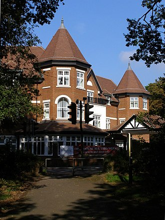 Bassett, Southampton - This residential care home stands on the site of the Bassett Hotel