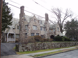 """Forest Hill, Newark, New Jersey - """"The Castle"""" in Forest Hill"""