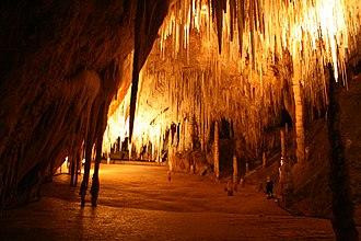 Hastings Caves State Reserve - Image: Newdegate cave Tasmania Australia 13
