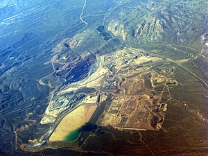 Newmont Mining Corporation - Gold Quarry mine, near Carlin, Nevada, 2009.