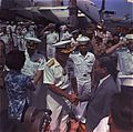 Nguyen Van Thieu departing USS Constellation (CVA-64) 1968.jpg
