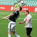 Nicklas Bendtner and Lars Christian Kjemhus, Sogndal-Rosenborg 07-15-2017.jpg