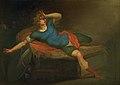 Nicolai Abildgaard - Richard III vågner af sit mareridt i sit telt i Bosworth - KMS3928 - Statens Museum for Kunst.jpg