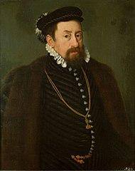 Kaiser Maximilian II. (1527-1576) als etwa Vierzigjähriger