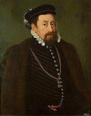 Maximilian II, Holy Roman Emperor - Portrait by Nicolas Neufchâtel, c. 1566