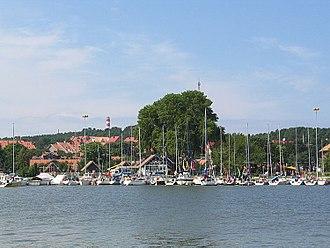 Nida, Lithuania - Nida Port and marina (2004)