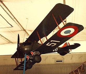 Nieuport-Delage NiD 29 - Nieuport-Delage NiD.29 fighter at the Musée de l'Air et de l'Espace in Paris