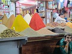 Night Spice market in Casablanca