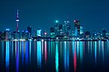 Night skyline of Toronto May 2009.jpg