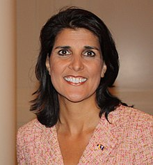 Nikki Haley, en 2010.