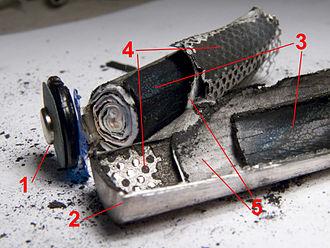 Nickel–metal hydride battery - Image: Nimh disassembled