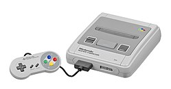 A Japanese Super Famicom