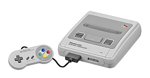 Home video game console - The Super Famicom, the Japanese version of the Super NES.