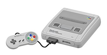 The Super Famicom, the Japanese version of the Super NES. Nintendo-Super-Famicom-Set-FL.jpg